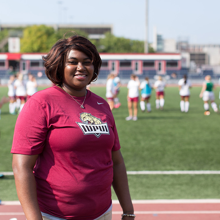 Sports Management student works with Indy Eleven