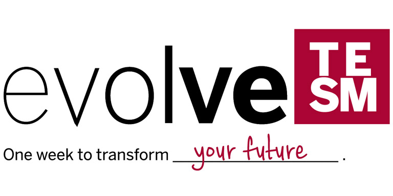 Evolve event logo